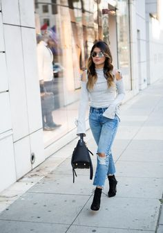 An Easy Way to Wear the Bell Sleeve Trend | The Girl From Panama