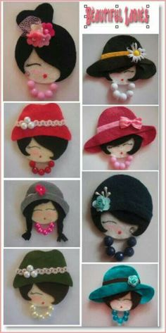 Felt ladies...CD base