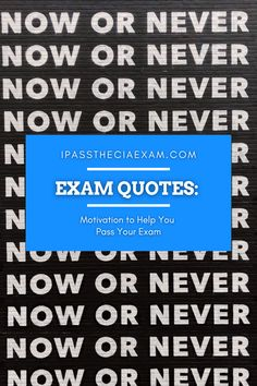 For those who are preparing for the CPA, CFA, CMA, CIA, or EA exams, or any board exam, here are some motivational quotes to get you through those rough times! #CIAExam #Motivationalquotes #Inspiration Career Path, Career Advice, Enrolled Agent, Accounting Career, Exam Study Tips, Exam Motivation, Cpa Exam, Some Motivational Quotes, Exam Quotes