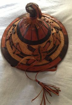 African raffia hat.  I have one of these