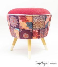 Ottoman, Retro, Chair, House, Furniture, Ideas, Home Decor, Home, Neo Traditional