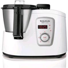 Taurus Robot Cuisine - Robot 925008 de cocina multifunción, color blanco: Amazon.es: Hogar Rice Cooker, Brother, Kitchen Appliances, Inventions, Food Processor, White Colors, Home, Kitchens, Diy Kitchen Appliances