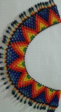 Beaded Flowers Patterns, Beaded Jewelry Patterns, Beading Patterns, Seed Bead Jewelry, Bead Jewellery, Beaded Cape, Beadwork Designs, Bead Crochet Rope, Beaded Crafts