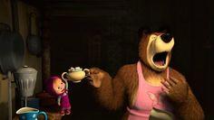 Masha and The Bear - episode 2 English - Video Dailymotion Good Movies, Awesome Movies, Masha And The Bear, English Fun