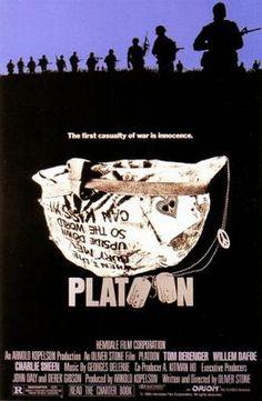 Platoon (1986) movie #poster, #tshirt, #mousepad, #movieposters2