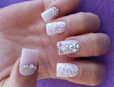 Day 31: Glitz & Glam Nail Art