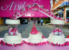 quinceanera cakes with dolls | bridge doll quinceanera cake i a very symbolic cake quinceanera ...