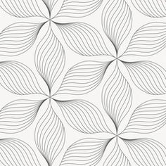 Find Linear Vector Pattern Repeating Abstract Leaves stock images in HD and millions of other royalty-free stock photos, illustrations and vectors in the Shutterstock collection. Line Design Pattern, Graphic Design Pattern, Line Patterns, Arte Linear, Linear Art, Abstract Lines, Abstract Flowers, Pattern Drawing, Pattern Art