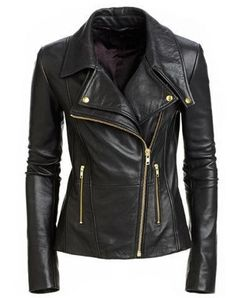 Looking for Infinite-Shop New Women's Black Slim Fit Biker Style Moto Real Leather Jacket ? Check out our picks for the Infinite-Shop New Women's Black Slim Fit Biker Style Moto Real Leather Jacket from the popular stores - all in one. Womens Black Leather Jacket, Lambskin Leather Jacket, Biker Leather, Real Leather, Motorcycle Leather, Soft Leather, Leather Jackets For Women, Leather Blazer, Custom Leather