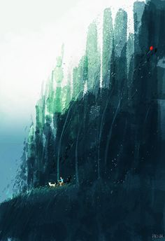 Red balloon. by PascalCampion.deviantart.com on @DeviantArt