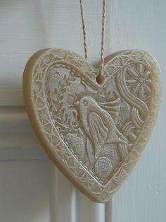Wax heart close up | Flickr - Photo Sharing!