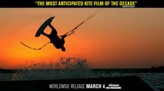 The official trailer of the most anticipated kiteboarding movie of the decade, WITH A KITE! Kites Film, Extreme Water Sports, Kitesurfing, Official Trailer, Places To See, Around The Worlds, Movie, Motivation, Videos