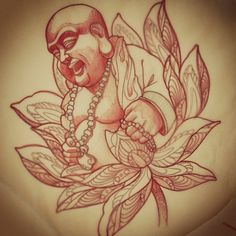 Had a no show on this, still liked the drawing. #Lotus #Buddha