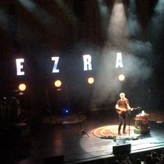 George Ezra & Dylan LeBlanc performed on Friday at The Wiltern