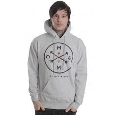 Of Mice & Men - Directional Grey - Hoodie - Of Mice & Men - Merchandise Online Shop - Impericon.com