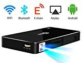 Portable Pico Video projector Android WiFi Bluetooth Office Projector Outdoor/Indoor Home Projector Support... What makes VISSSVI projector special?  ★Great for home entertainment system. Whether https://thehomeofficesupplies.com/portable-pico-video-projector-android-wifi-bluetooth-office-projector-outdoorindoor-home-projector-support-1080p-led-projector-for-home-theater-movie-video-games-up-to-120-inches/