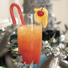 Jingle Juice Jingle Juice is just the thing for a crowd; it can be made in large batches and chilled the night before your get-together. Recipe Link: Jingle Juice