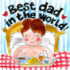 Best dad in the world - Blond Amsterdam