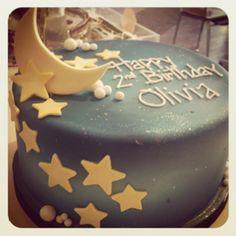 Moon and stars cake :)
