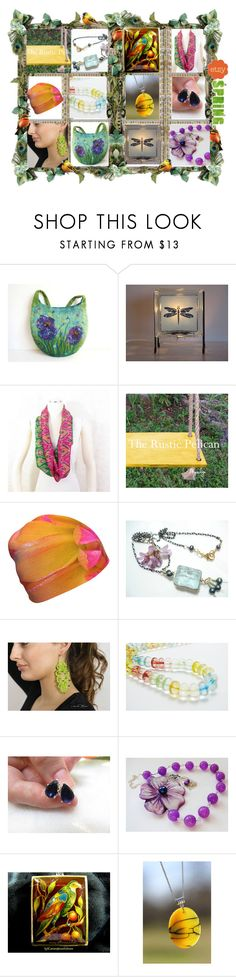 """""""Spring on ETSY"""" by belladonnasjoy ❤ liked on Polyvore featuring vintage"""