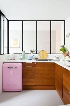 Little pink fridge!