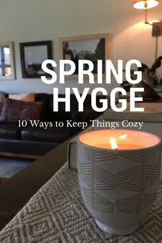 "In my opinion, a home should ALWAYS be cozy, no matter the time of year. By now you've likely heard of the term ""hygge""..."