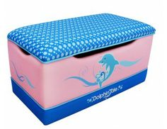 Dolphin Tale Deluxe Toy Box Dolphin Tale, Toy Boxes, Kids Furniture, Storage Solutions, Girls Bedroom, Benches, Toy Chest, Storage Chest, Boy Or Girl