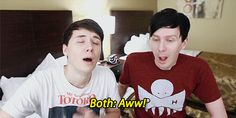 #me when i see dan and phil