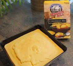 Light & fluffy cornbread mix - gluten-free