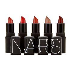 Killer Heels Mini Lipstick Set, NARS Aussi disponible a Sephora http://www.sephora.fr/Maquillage/Palettes-Coffrets/Levres/Mini-Lipstick-Set-Set-de-maquillage/P2332001
