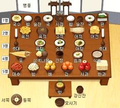 Korean Food, Holiday Decor, Grammar, Platform, Image, Korean Cuisine, Heel, Wedge, Heels
