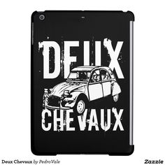 Deux Chevaux Cover For iPad Air
