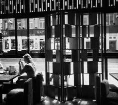 Leeds chocolate hotel black and white