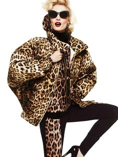 Roberto Cavalli Taps Melissa Tammerijn and Samantha Gradoville for its Fall 2012 Collection Leopard Print Outfits, Leopard Fashion, Animal Print Fashion, Fashion Prints, Animal Prints, Leopard Prints, Bold Prints, Leopard Spots, Leopard Animal