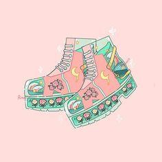 Aesthetic Drawing, Aesthetic Art, Aesthetic Anime, Arte Do Kawaii, Kawaii Art, Cute Pastel Wallpaper, Kawaii Wallpaper, Animes Wallpapers, Cute Wallpapers