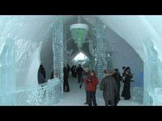 Hôtel de glace : venez goûter au grand frisson - YouTube
