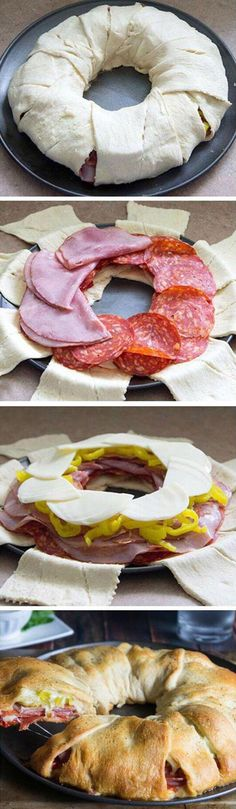 Amazing Pizza Donut