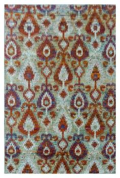 Rug Love: Sari Silk Rugs | The English Room