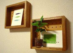 端材で作る---ボンドで作る飾り棚   DIY・ハンドメイド・収納…暮らしなモノづくり