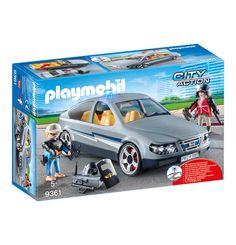 SEK-Zivilfahrzeug 9361 Play Mobile, Kids Police, Nerf Toys, Lego City Police, Police Uniforms, Police Officer, Lego Construction, Blue Led Lights, Rottweiler Dog