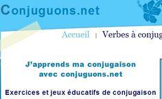 Conjuguons.net, pour apprendre sa conjugaison  ...