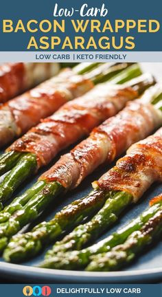 Just because you're on a keto diet doesn't mean you can't grill up amazing appetizers like these Grilled Bacon Wrapped Asparagus Spears. | Asparagus Recipe | Bacon Recipe | Appetizer Recipe | Keto Recipe | Low Carb Recipe | #appetizer #recipe #low carb Best Low Carb Recipes, Best Dinner Recipes, Bacon Recipes, Easy Recipes, Keto Recipes, Asparagus Spears, Asparagus Recipe, Best Appetizers, Appetizer Recipes