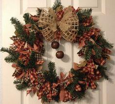 1000 ideas about Rag Wreaths on Pinterest #1: 88ef4e92d3ecd903c7b51a7a
