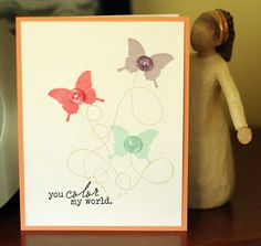another simple way to add more colour to a card... also, love pti's happy trails