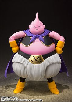 [S.H.Figuarts] Majin Buu Now Official! [August 2018] It's a regular release. Seeing him a couple of times during the announcements, he had stands supporting his legs. Kinda worried he might not be able to stand properly due to his weight. Dragon Ball Z, Dbz, Cameleon Art, Action Figure One Piece, Figuarts, Figurine Dragon, Majin Boo, Manga Anime, Goofy Disney