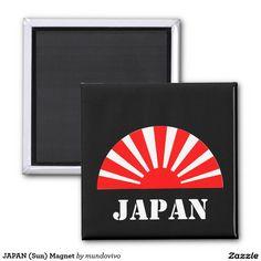 JAPAN (Sun) Magnet