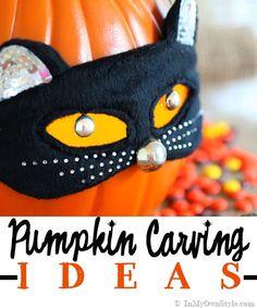 Pumpkin carving ideas -