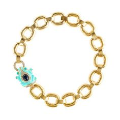 J.Cluster Anthropology ENAMELED FROG COLLAR by Partiesqueen, $34.49