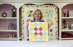 Wishes Quilt Along Block Seven: Courthouse Lawn - Fat Quarter Shop https://www.youtube.com/watch?v=MV220k_cHf4