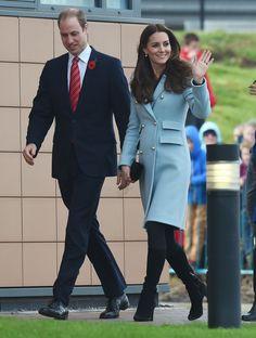 The Duke and Duchess of Cambridge visit the Valero Pembroke Refinery